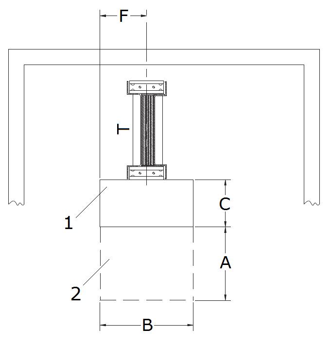 Схема расположения шинопровода
