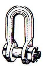 Сцепная линейная арматура: скоба