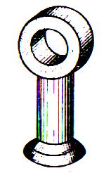 Сцепная линейная арматура: серьга