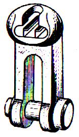 Сцепная линейная арматура: ушко