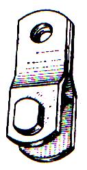 Сцепная линейная арматура: коромысло