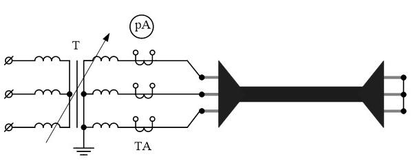 Схемы прогрева кабелей