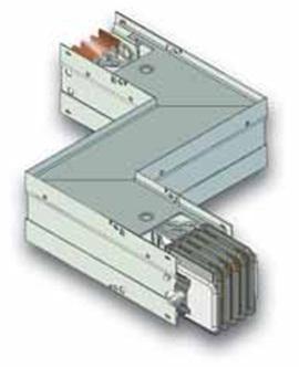 Z-образная горизонтальная секция шинопровода