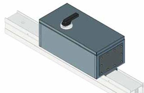 ответвительная коробка шинопровода