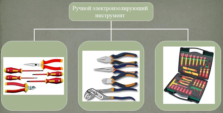 ручной электроизолирующий инструмент